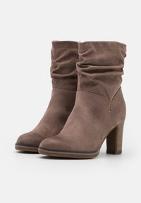 s.Oliver - High heeled ankle boots - pepper - 2