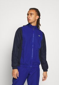 Lacoste Sport - TRACKSUIT - Tracksuit - cosmic/navy blue/white - 0