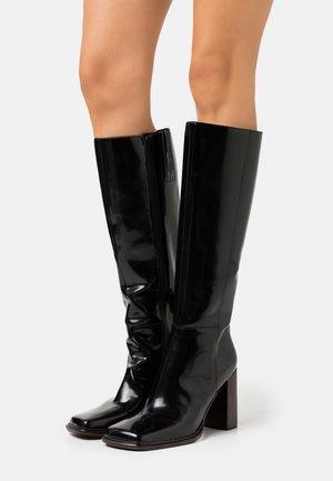 ZELDOA - Boots med høye hæler - black