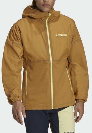 Waterproof jacket - brown