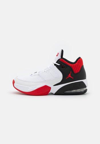 MAX AURA 3 UNISEX - Scarpe da basket - white/university red/black