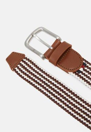 CASUAL WEBBING - Cintura - brown