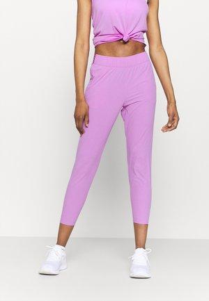 Pantalones deportivos - fuchsia glow/silver
