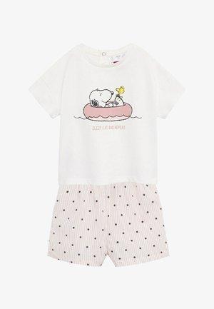 SNOOPYB - Pyjama - gebroken wit