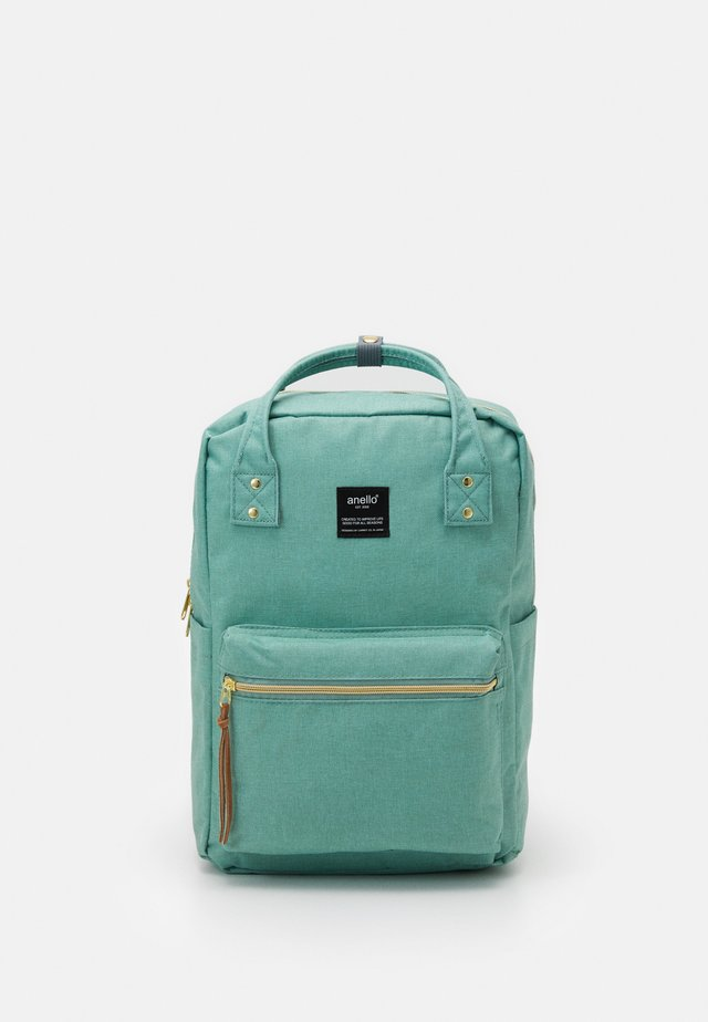 SQUARE BACKPACK UNISEX - Batoh - mint green