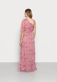 Anaya with love Maternity - ONE SHOULDER DRESS WITH FLUTTER SLEEVE - Vestido informal - pink - 2