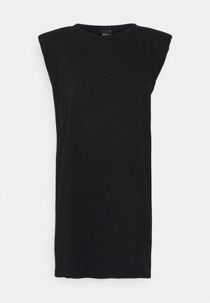 FRAN DRESS - Trikoomekko - black