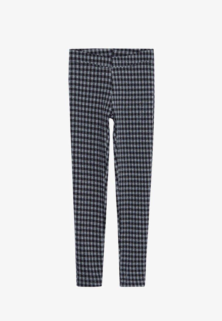 Mango - ARCHI - Leggings - Trousers - gris chiné foncé