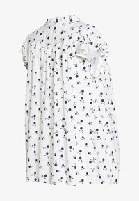 Dorothy Perkins Maternity - DITSY FLORAL BUTTON THROUGH CRINKLE - Overhemdblouse - ivory