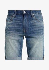 Calvin Klein Jeans - SLIM - Džínové kraťasy - denim - 4