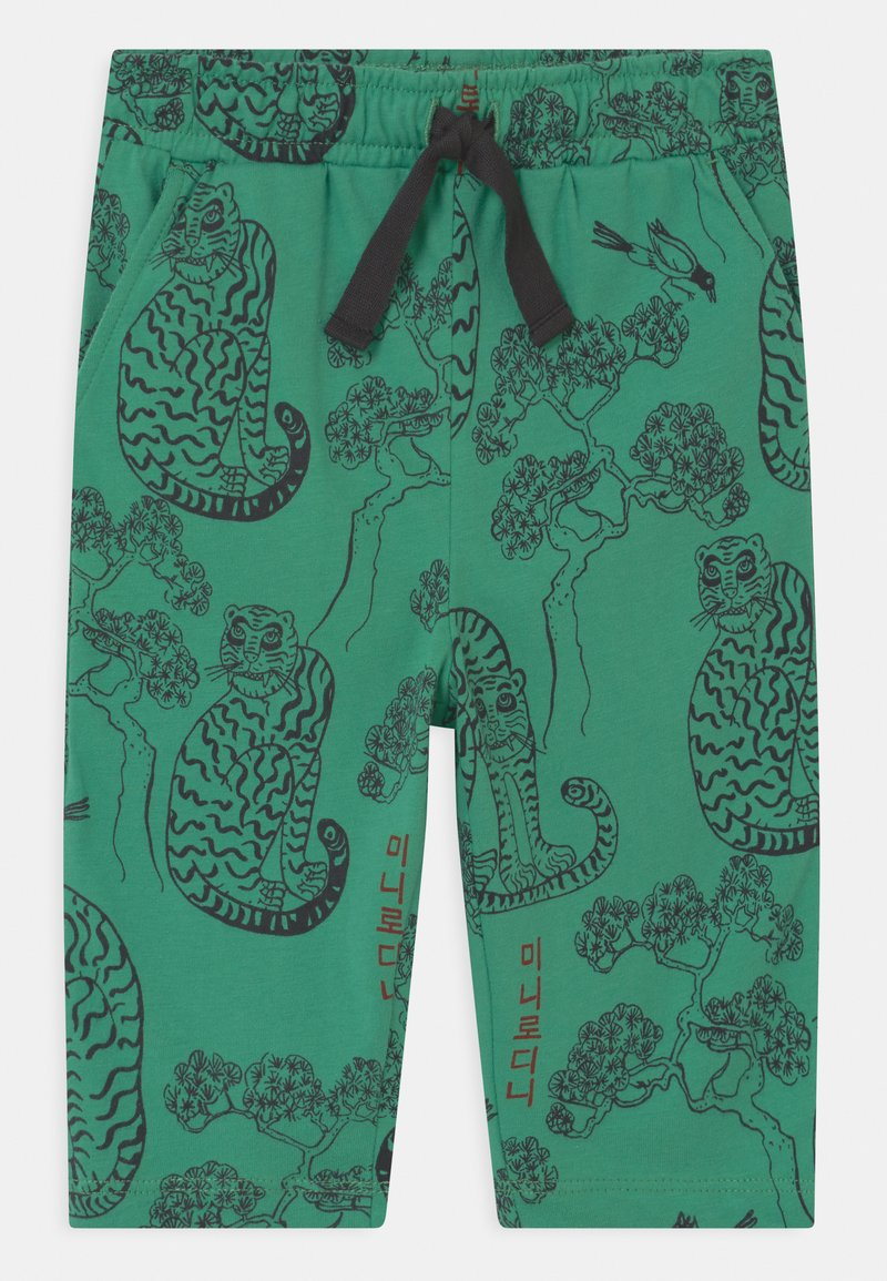 Mini Rodini - TIGERS UNISEX - Trousers - green
