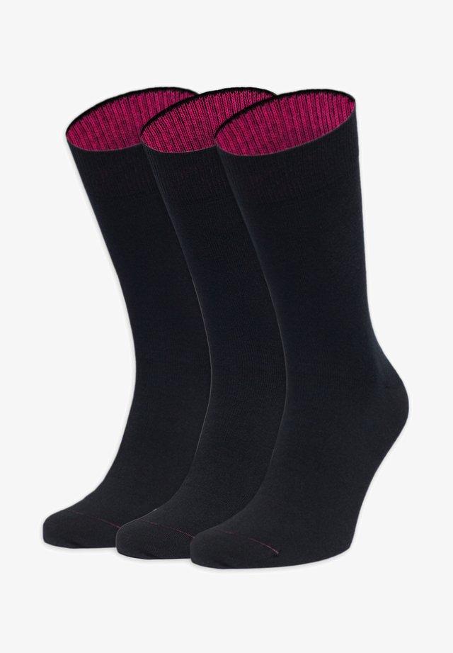 3 TAGE UNTERTAGE - Socks - schwarz,lila