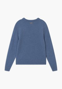 TWINSET - MAGLIA MIX - Jumper - blue denim - 1