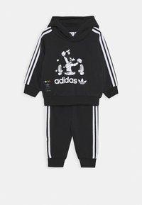 adidas Originals - GOOFY HOODIE DISNEY - Survêtement - black - 0