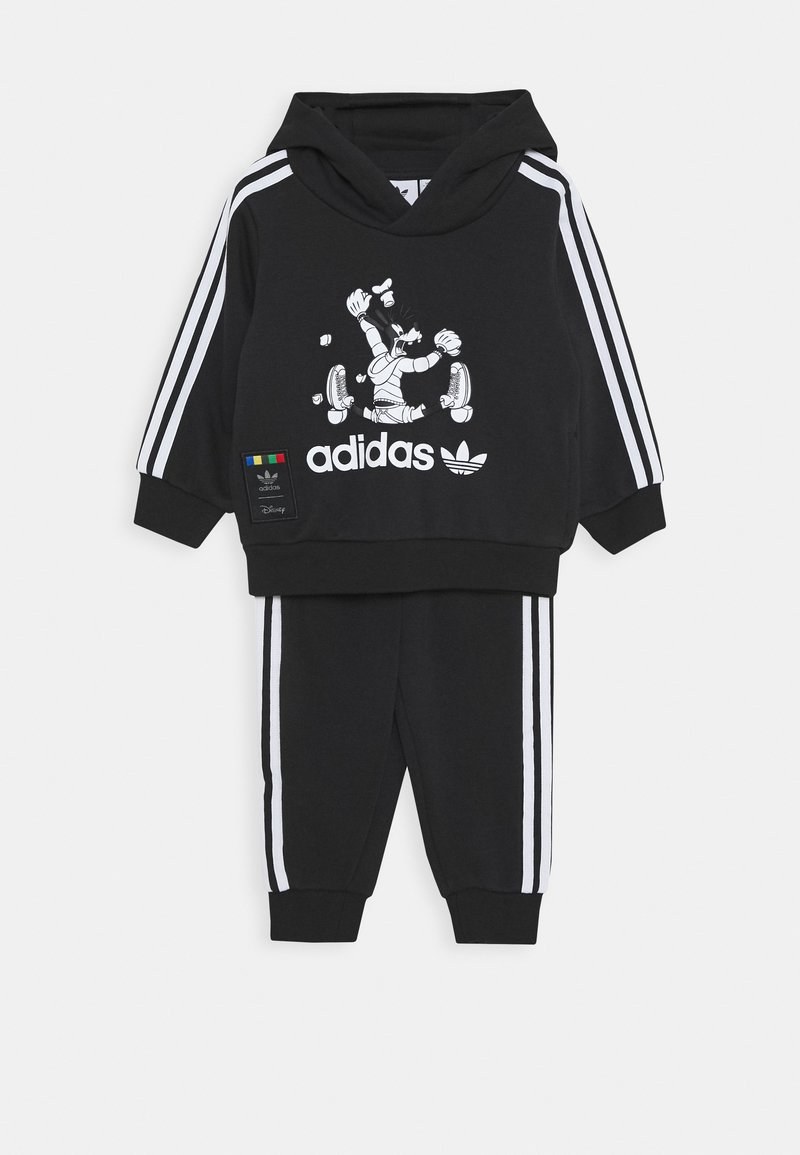 adidas Originals - GOOFY HOODIE DISNEY - Survêtement - black