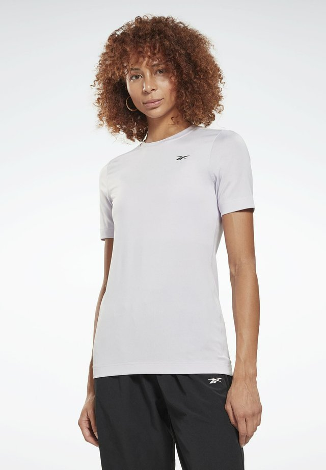 WORKOUT READY TRAINING SHORT SLEEVE - Basic T-shirt - white