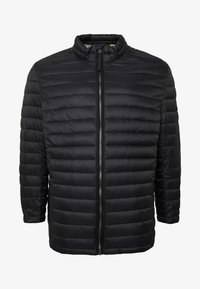 TOM TAILOR MEN PLUS - LIGHTWEIGHT JACKET - Light jacket - black - 4