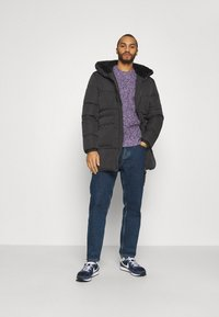 Tommy Jeans - CASUAL PUFFER - Winter coat - black - 1