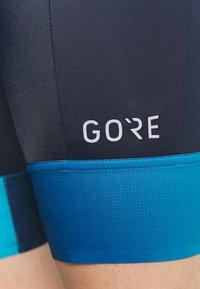 Gore Wear - FORCE SHORT WOMENS - Tights - orbit blue/scuba blue - 5