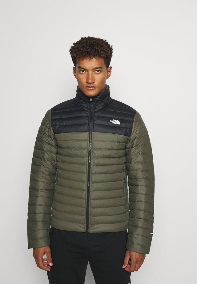 STRETCH JACKET - Down jacket - green/black