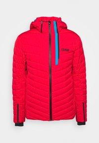 Ski jacket - bright red/peacock/black