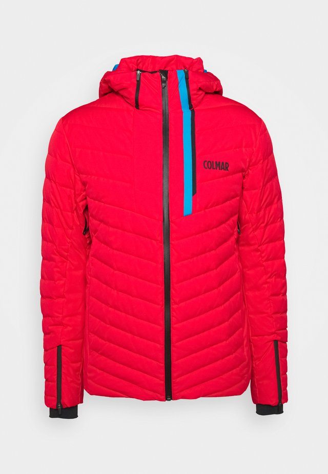 Veste de ski - bright red/peacock/black