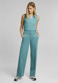 Esprit Collection - Blouse - dark turquoise - 3
