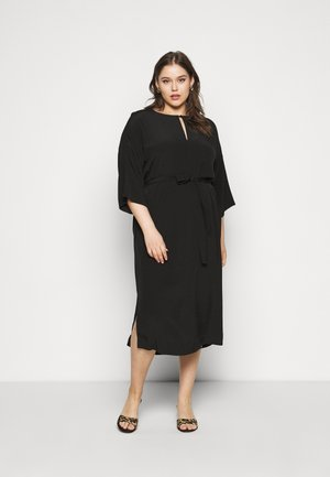 SLFYANKA TONIA DRESS - Day dress - black