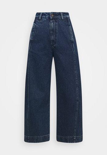 SPONGE PANTS - Relaxed fit jeans - blue denim