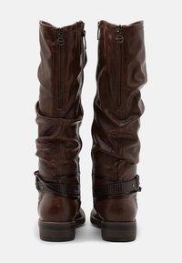 Tamaris - BOOTS - Støvler - brandy - 3
