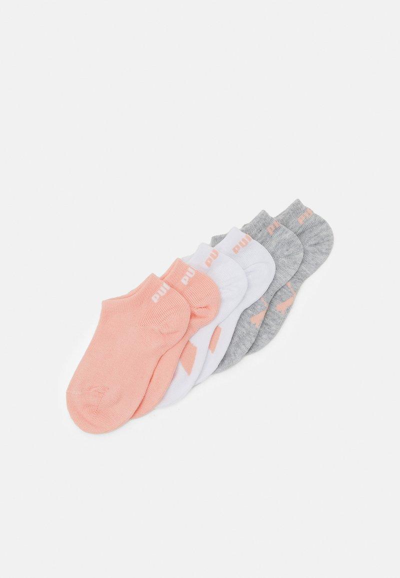 Puma - KIDS SNEAKER 9 PACK UNISEX - Socks - coral