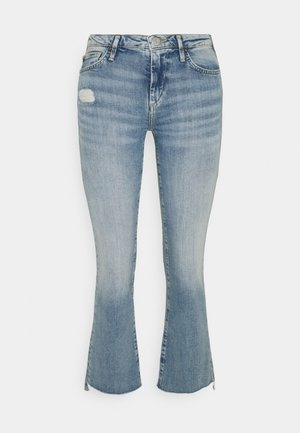 NEW HALLE KICK - Jeansy Dzwony - blue denim