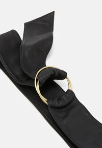 Zign - LEATHER - Waist belt - black - 3