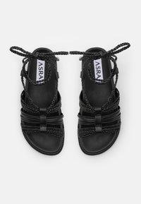 ASRA - SARIAH - Sandals - black - 4