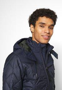 G-Star - ATTACC HEATSEAL QUILTED - Light jacket - namic heatpress padded sartho blue - 4