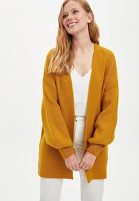 DeFacto - Cardigan - yellow - 3