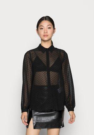 VIMOSI  - Button-down blouse - black