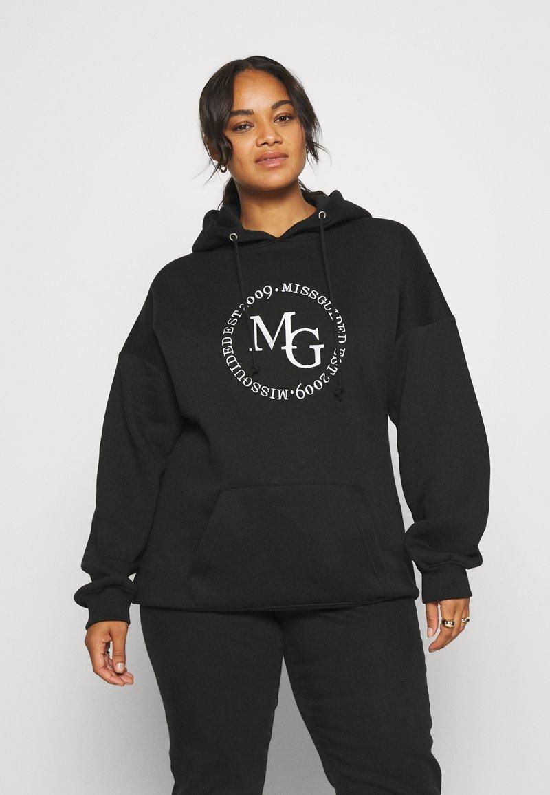 Missguided Plus - SWEAT - Sweatshirt - black
