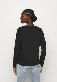 Calvin Klein - SIGNATURE - Top sdlouhým rukávem - black - 2