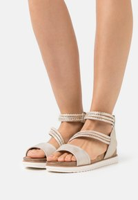 Tamaris - Platform sandals - light gold - 0