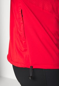 Peak Performance - HIT HALF ZIP - Windbreaker - vibrant red - 6