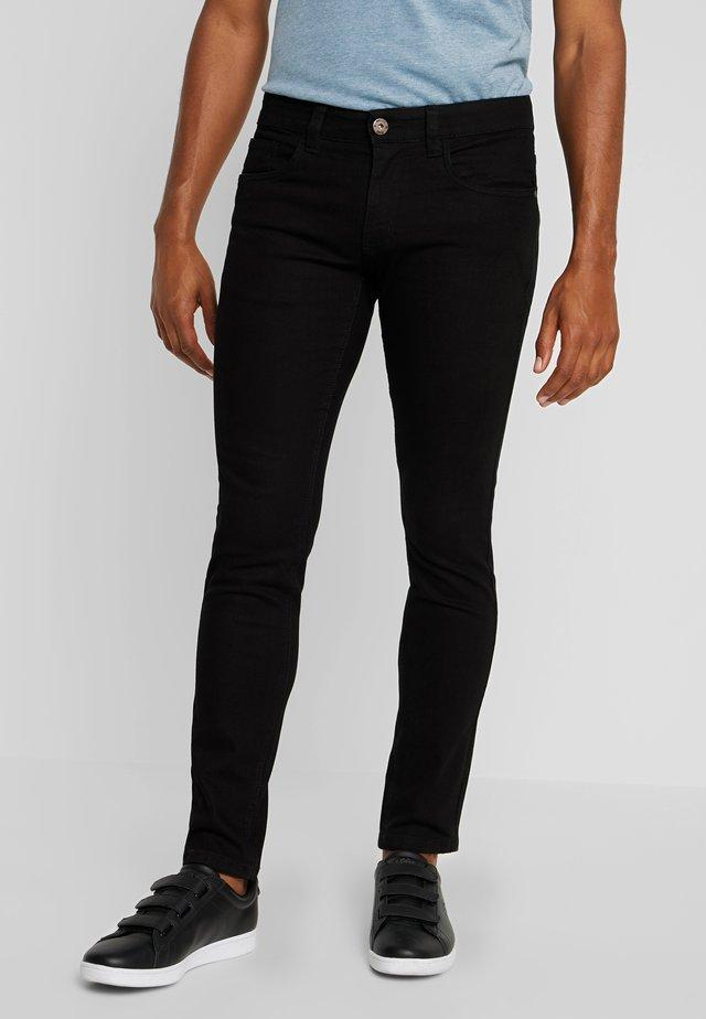PITTSBURG - Slim fit jeans - ultra black