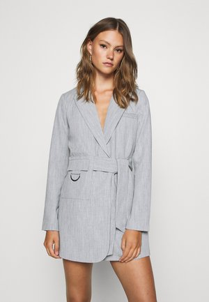 RUBY BLAZER DRESS - Skjortekjole - grey