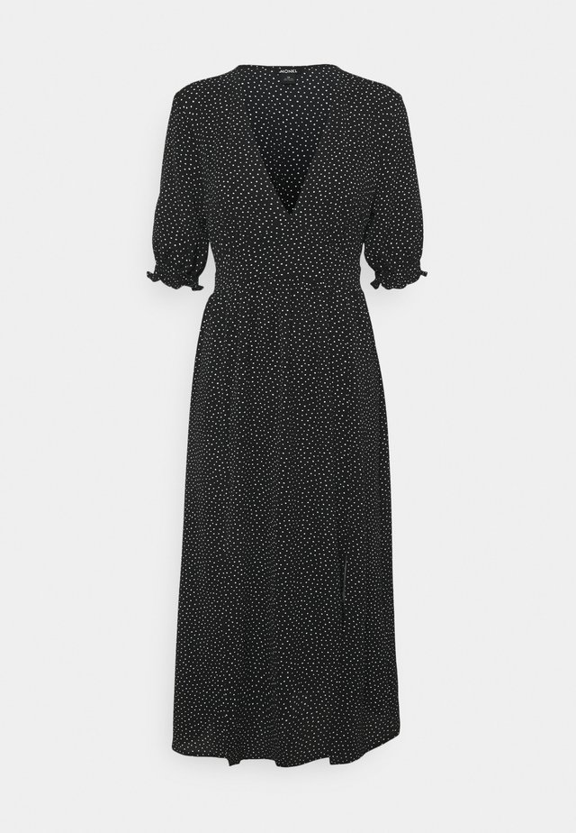 REESE DRESS - Day dress - black/off white