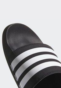 adidas Performance - ADILETTE COMFORT SWIM - Slippers - black/white - 8