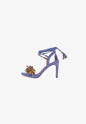 Sandalias de tacón - azul
