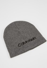 Calvin Klein - CLASSIC BEANIE - Muts - grey - 3