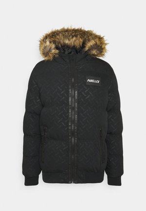 SOLAR CROPPED BUBBLE JACKET - Winter jacket - black