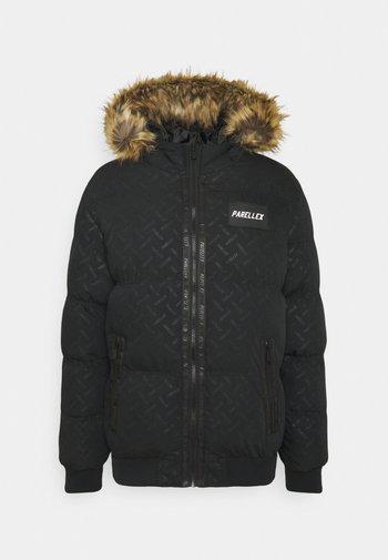 SOLAR CROPPED BUBBLE JACKET - Veste d'hiver - black