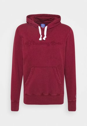 ROCHESTER HOODED - Bluza z kapturem - dark red